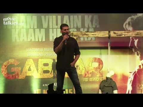 Gabbar Is Back Trailer Launch By Akshay Kumar, Shruti Haasan