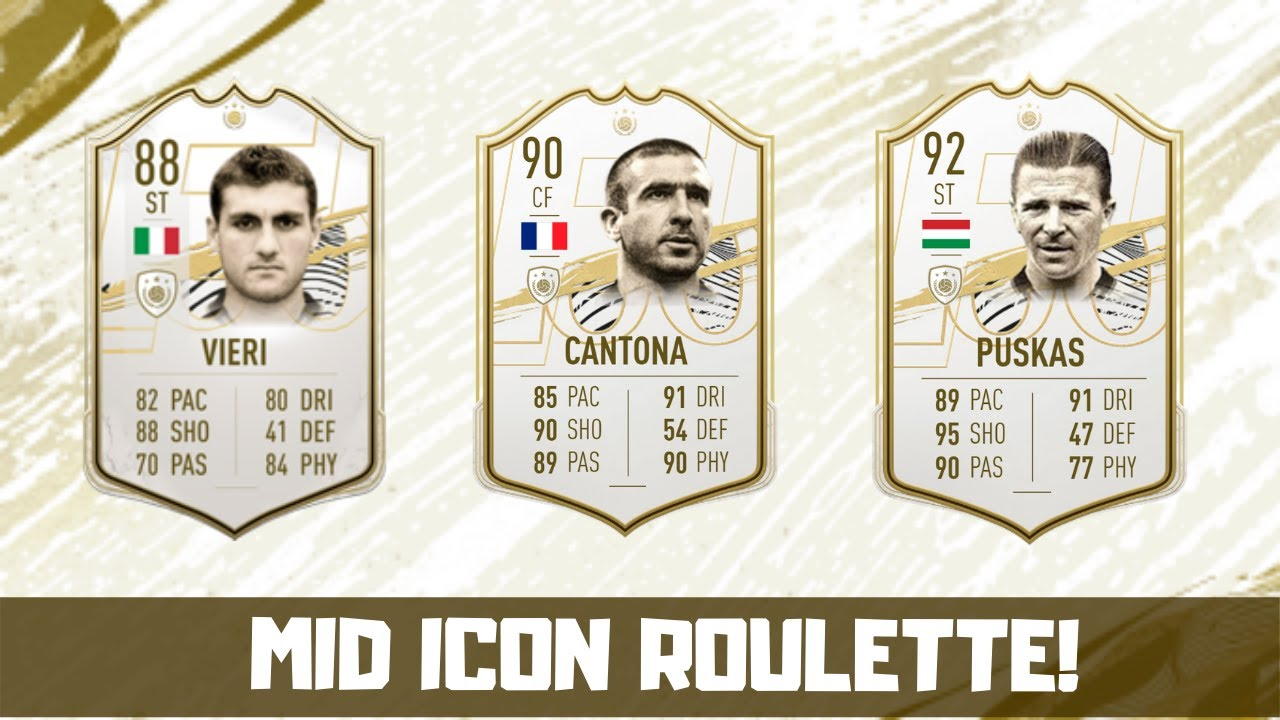 MID ICON Pack! Worth 9 Icon Swap Players? (FIFA 21 - Ultimate Team)