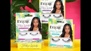 EYLURE x Jordyn Woods Eyelash Collection! BTS and Lash Preview!