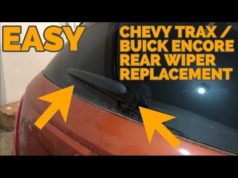 Chevy Trax / Buick Encore Rear Wiper Replacement – How To