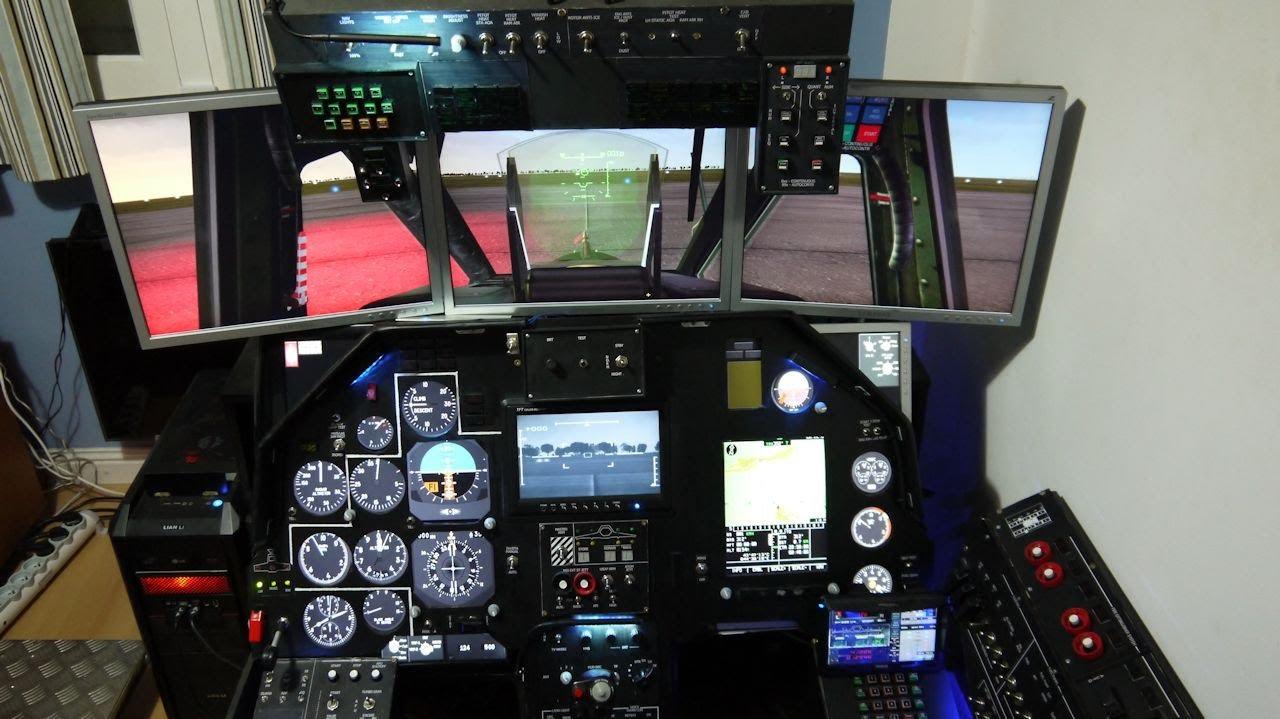 Building the ka cockpit part build softwares