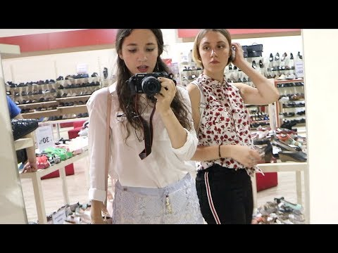 Explore Kiev like а local - shopping with my sister