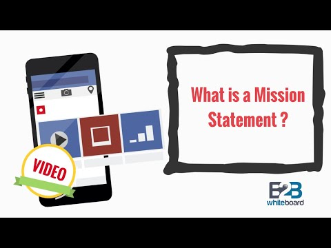 What is a Mission Statement ?