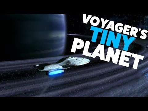 Star Trek Voyager's IMPOSSIBLY Tiny Planet