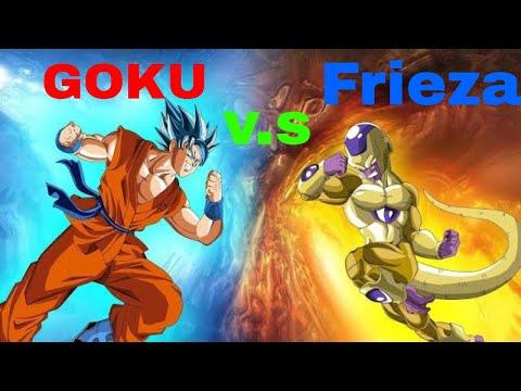 Dragon Ball Super - Goku vs Frieza. (2020)