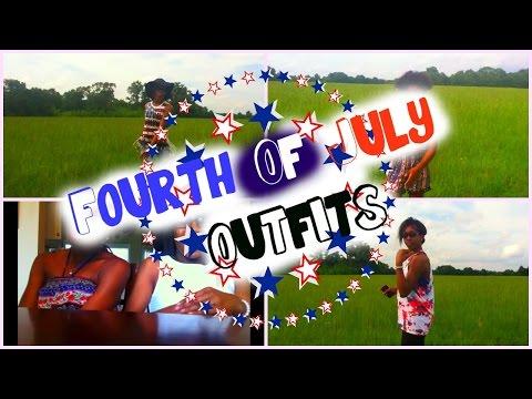 🇺🇸 Fourth Of July Outfits+DIY | WeAreJayAndA🇺🇸