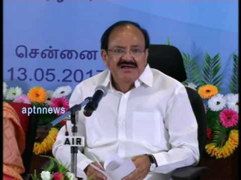 VENKAIAH NAIDU|ALL INDIA RADIO|I&B MINISTER VENKAIAH NAIDU|CHENNAI AIR