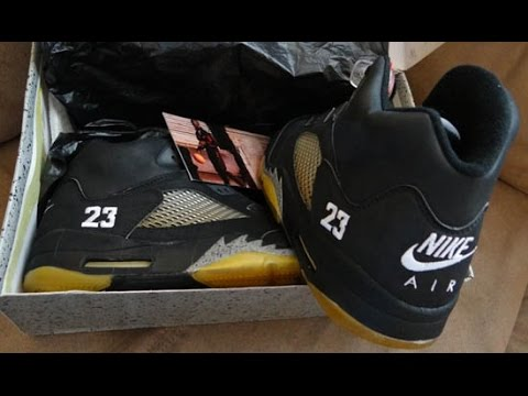5db80477f13 1990 OG JORDAN METALLIC 5 EBAY PICKUP/STEAL and LEBRON SOUTH BEACH 8S! -  YouTube