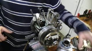 Peugeot 103 Montage haut moteur polini 70cc part2
