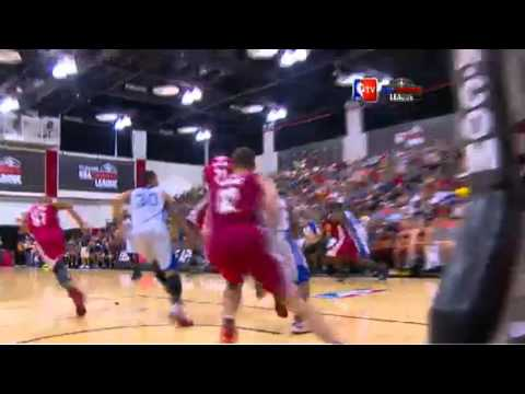 Anthony Bennett Summer League Dunk