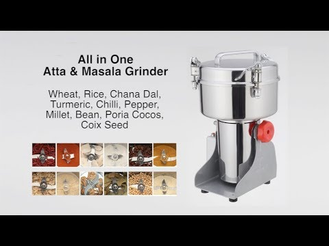 Automatic Flour Mill And Spices Grinder Chakki For Easy Everyday Milling At Home.