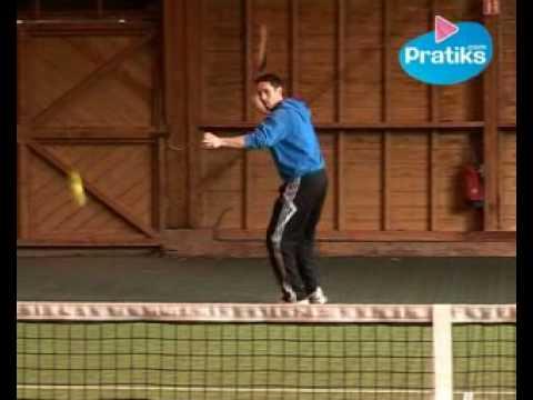 Comment faire un coup droit lift au tennis sport youtube - Comment faire un coup droit ...