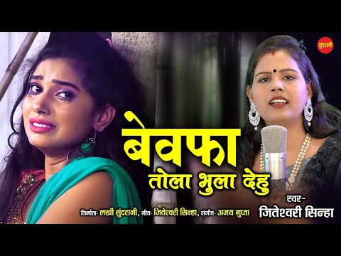 Bewafa Tola Bhula Dehu - जा बेवफा तोला भुला देहु | Jiteshwari Sinha | 8435907707 | Cg Song 2021