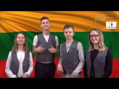 Happy Birthday Lithuania Youtube