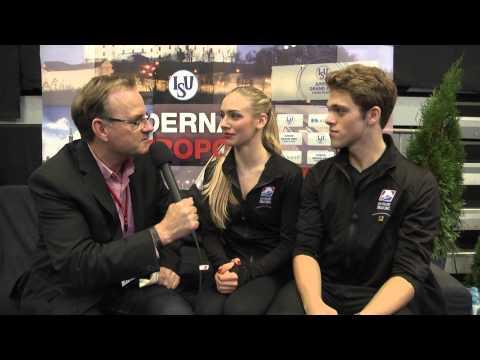 2015 ISU Junior Grand Prix Bratislava - Rachel PARSONS / Michael PARSONS USA
