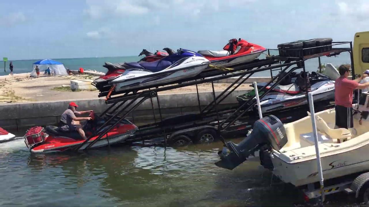 Aquasled Unloading In Marathon Florida May 2019 Youtube