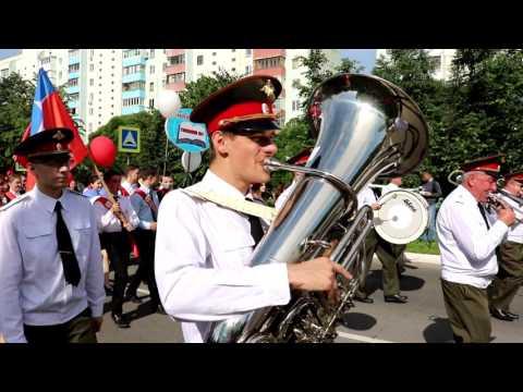 Парад выпускников в Краснознаменске
