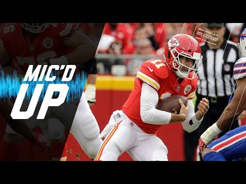 """Alex Smith Mic'd Up Vs. Bills """"We're Coming Back And Winning This Game"""" 