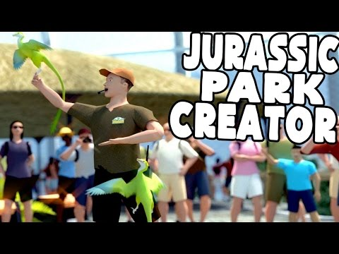 Prehistoric Kingdom -  CREATE THEN USE YOUR OWN JURASSIC PARK!! - Prehistoric Kingdom Demo