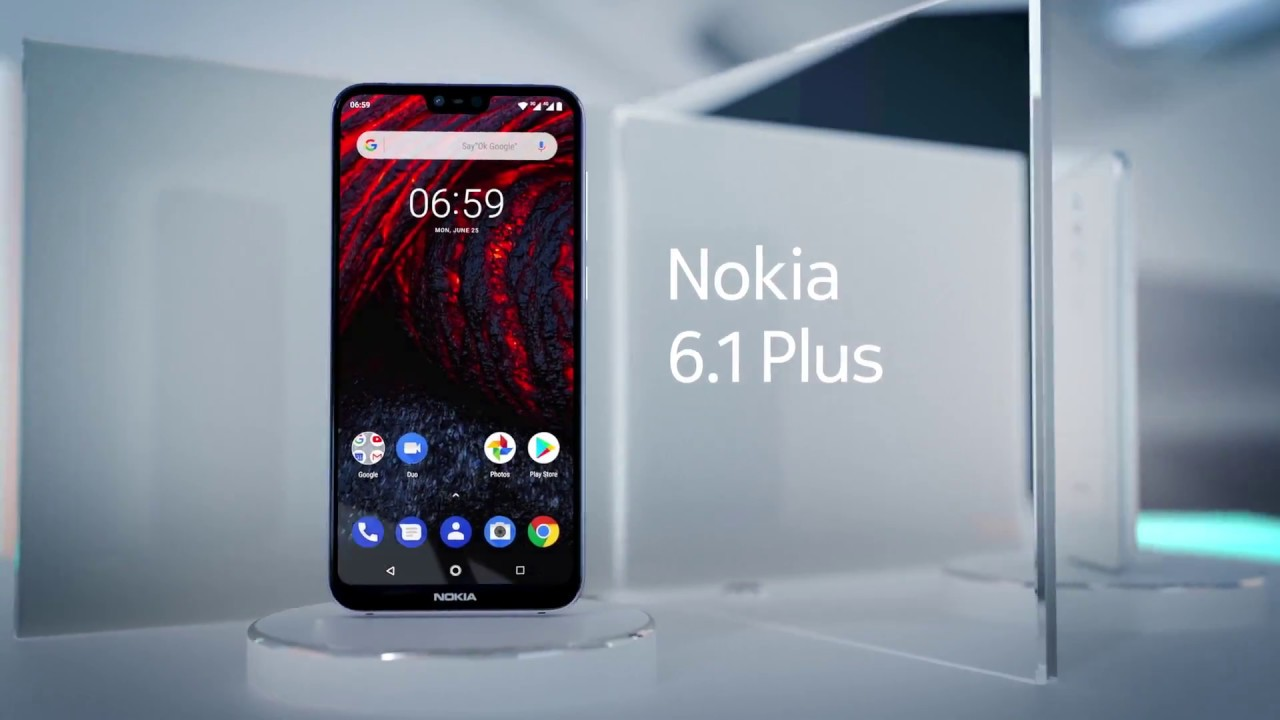 Nokia 6 1 Plus (Global Edition) with Android One - Introductory Video