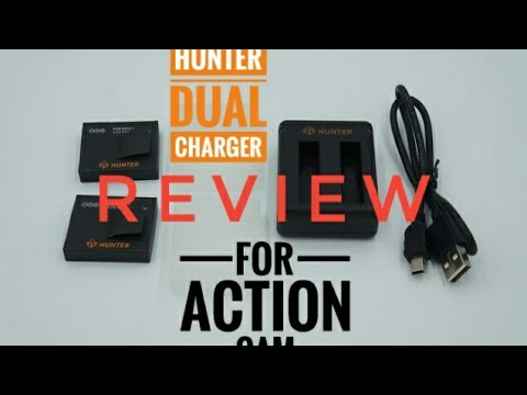Review Battery & Charger For Action Camera Hunter, SJCam Sj4000, Brica Bpro