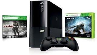 Обзор Xbox 360 E (250г + 2 игры)