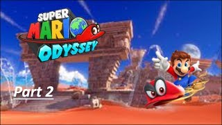 Super Mario Odyssey Part 2: The Icy Desert!