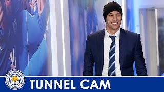 tunnel cam   leicester city vs afc bournemouth 2015 2016