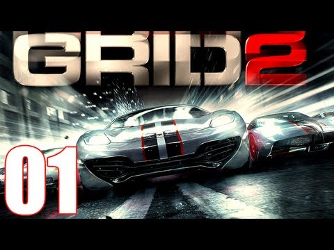 Grid 2 Walkthrough Part 1 Gameplay Let's Play [1080p]