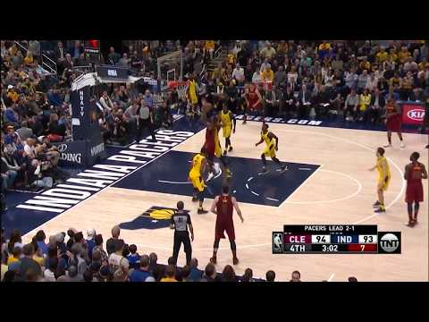 Cavs' LeBron James Drops 32 points, 13 rebounds to Tie up Series Vs. Pacers