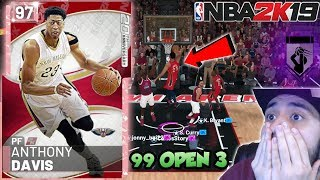 2K MADE PINK DIAMOND ANTHONY DAVIS TOO OVERPOWERED IN MYTEAM! NBA 2K19 GAMEPLAY