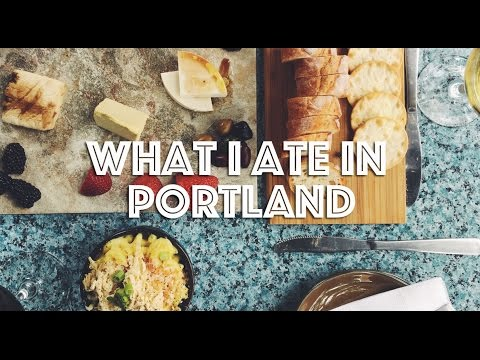 WHAT I ATE IN PORTLAND (VEGAN)