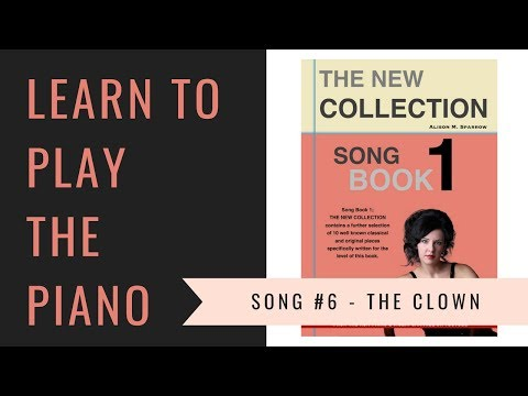 The Clown | EASY PIANO PIECES | Song Book 1; The New Collection