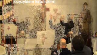 Artur Ceroński-Promuje papieski ekumenizm i falsz odnowy'w Duchu Świętym'