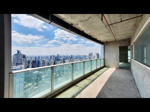 47th floor Penthouse Bangkok For Sale Millennium Residences 65,000,000 THB Bare Shell