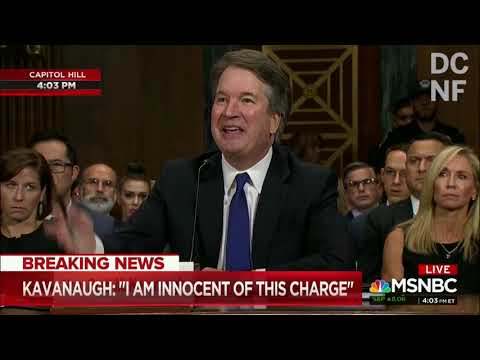 Highlights Of The Kavanaugh Hearing