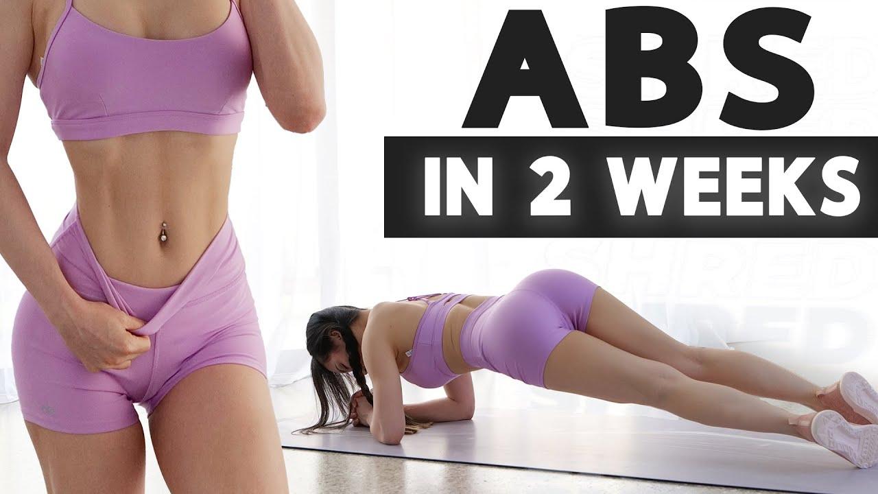 Get ABS in 2 Weeks | 2021 2 Week Shred Challenge!
