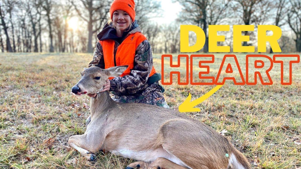 Whitetail Deer Catch, Clean, Cook! {Deer HEART Recipe}