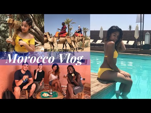 TRIP TO MARRAKECH, MOROCCO | VLOG