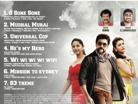 Singam 3 (S3) Songs Officially Announced