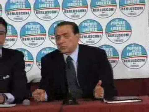 """Berlusconi: """"I rifiuti sono lasciati da gente dell..."""