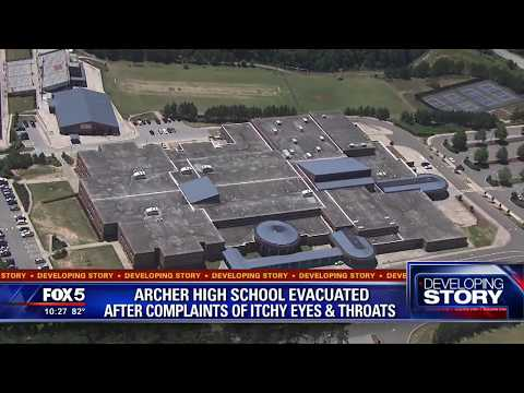 Archer High School evacuated after complaints