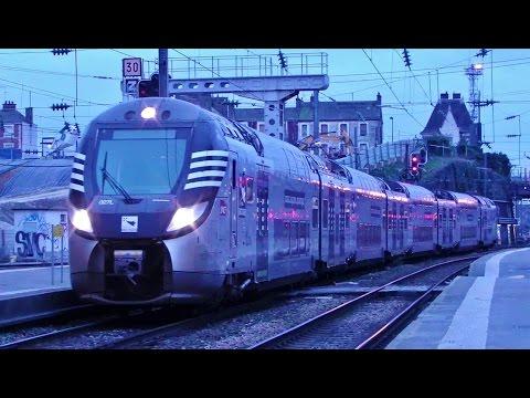 Trains en Gare de Rennes SNCF Station & Trains