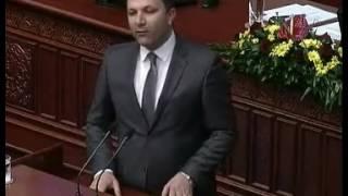Оливер Спасовски во Собрание 29 03 2017