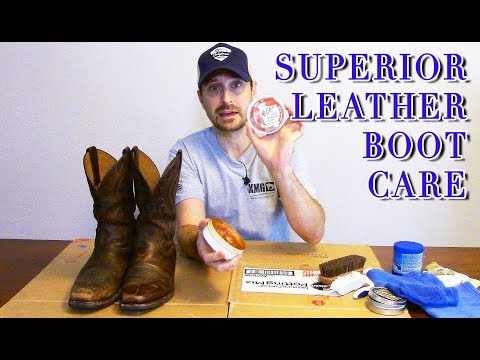 How To Clean Leather Boots (Best Products I Have Used)