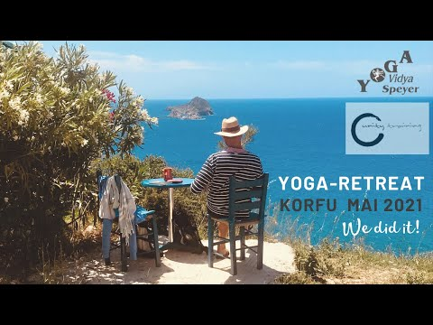 Yoga Retreat Korfu Mai 2021 | Yoga & Meditation im Paradies mit Gauranga, Shakti & Maheshwara