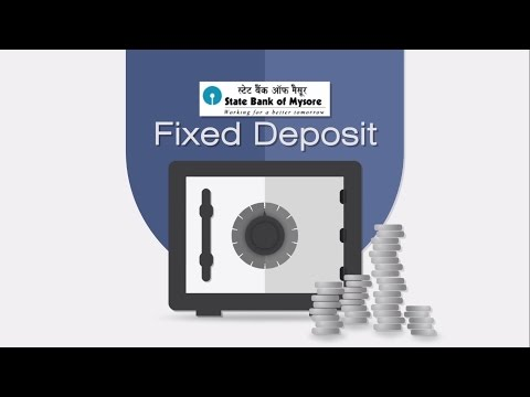 State Bank Of Mysore Fixed Deposit