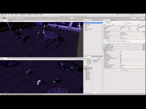 Survival Shooter Tutorial - 4 of 10 : Adding Enemy one - Unity Official Tutorials (new)
