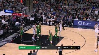 3rd Quarter, One Box Video: San Antonio Spurs vs. Boston Celtics