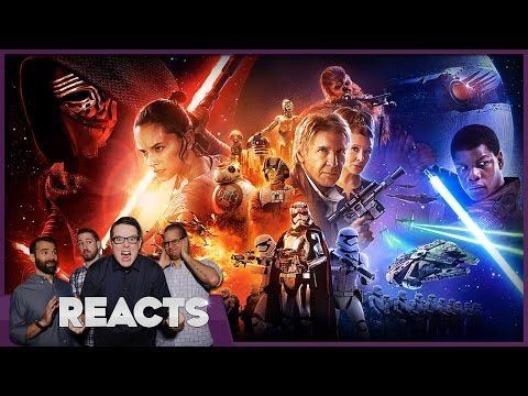 Star Wars The Force Awakens FULL SPOILERS Review - Kinda Funny Reacts
